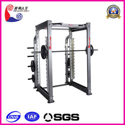 Indoor gym equipment 3D Smith machine