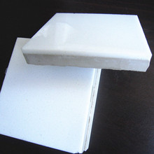 super white glass tiles with porcelain backing composite crystallized glass stone