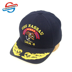 SUPER CROWN Guangzhou Factory High Quality Embroidery Logo Custom Military Baseball Cap Wholesale
