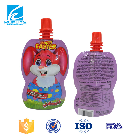 FDA Certified safety food grade gravure printed plastic laminated film for juice packaging material