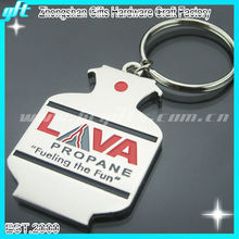 [New Design]Specialized Custom Shinny silver Metal Beer Bottle Opener keychain for wholesale