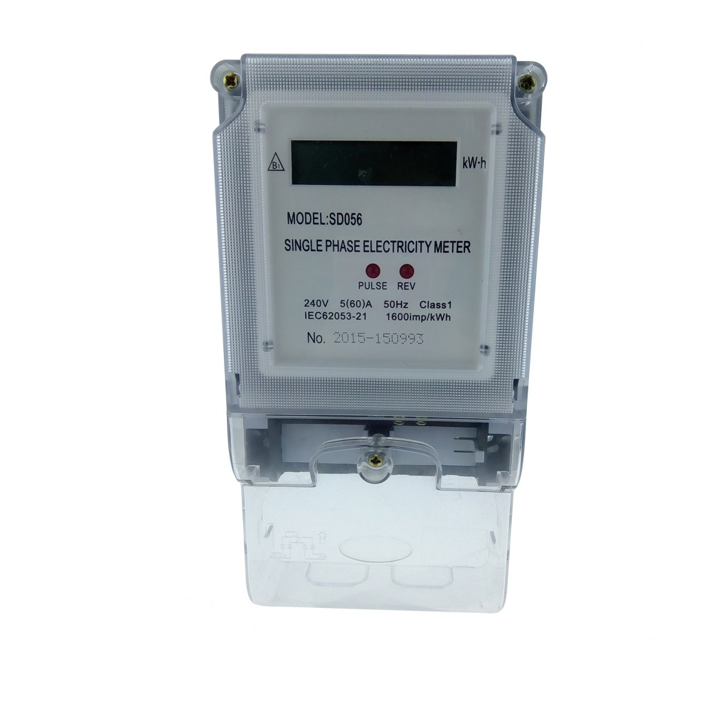 Hot Sale Manufacturers Single Phase Watt/Electric Meter/Power Meter