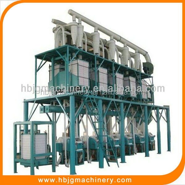 High Grade Automatic Complete Wheat Flour Mill