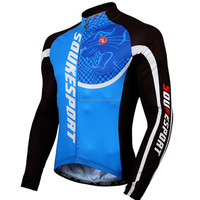 Men's Cycling Jersey Long Sleeve OEM Service