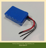 Rechargeable Ryobi power tool battery, potentiometer