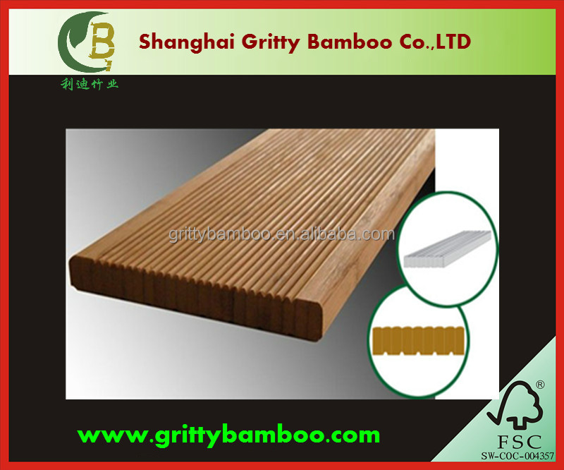 GBV-02 outdoore bamboo anti-rot anti-mildew floor