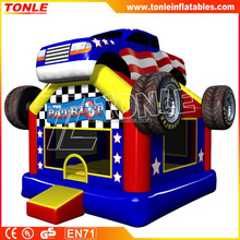 The Patriot Monster Truck Inflatable Bouncer/bounce house/ Inflatable jump castle