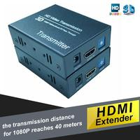 NEW BRAND HDMI Extender Converter Adapter CAT5 /5e/ 6 Converter Cable for 1080P HDTV with A two-way infrared (broadband)