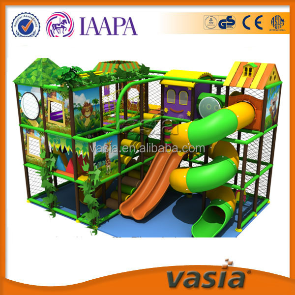 Children play house and toys indoor,plastic material Indoor playground equipment, amusement indoor play house