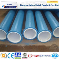 ASTM A36 24 inch plastic coated steel pipe