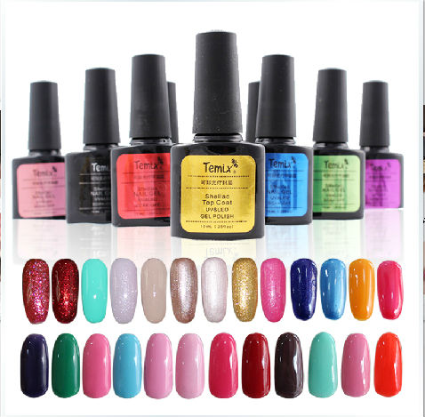 2014 Nail Art Soak-Off Glitter Polish Soak Off Nail Polish UV <strong>Gel</strong>