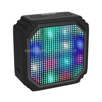 Bulk buy from China LED bluetooth speaker mini wireless bluetooth speaker 3W output