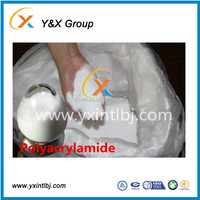 Factory price high molecular weight polymer CPAM MSDS cationic polyacrylamide chemicals used in paper mill YXFLOC