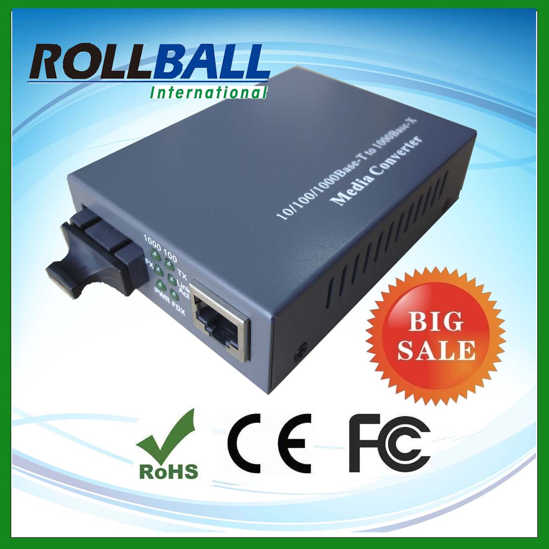 Big selling 40km planet media converter