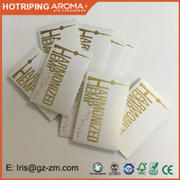 Wholesale 250gsm pearl paper shatter envelope with gold foil