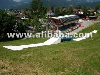 Skitrax - artificial / synthetic snow surface - slopestyle rider park