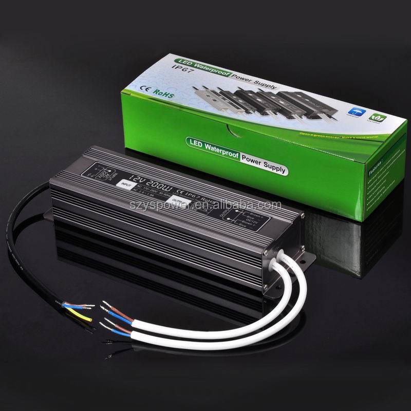 200w CE,RoHS approved dve switching power supply dso-142l universal box driver