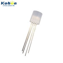 5mm/8mm/10mm RGB color KHL80MFRGB00-A RGB 8mm Flat Top LED Diode