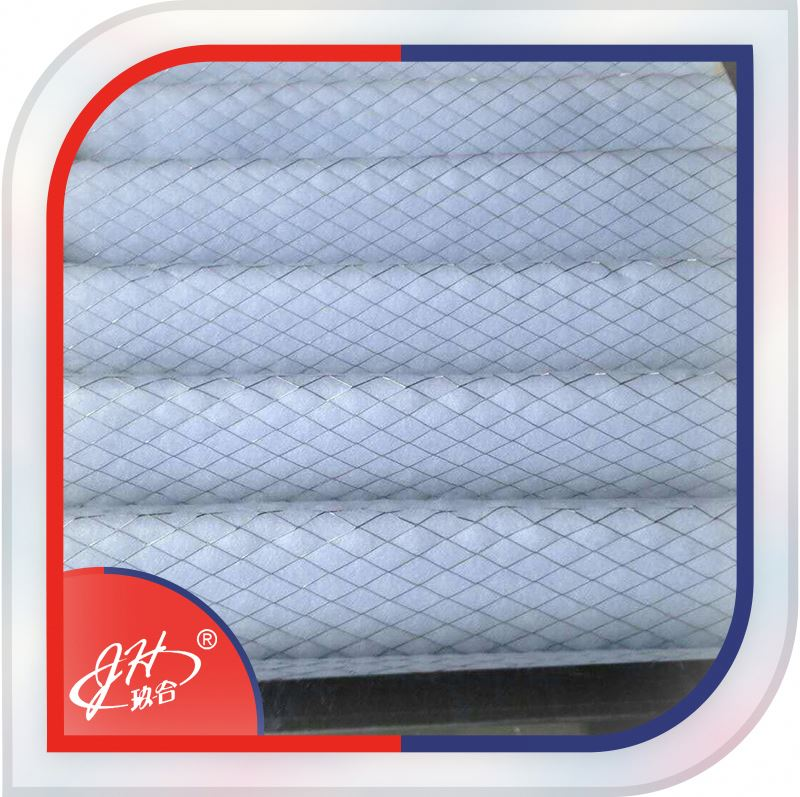 Non-Woven Fabrics Synthetic C Pleated Type Pleated Panel Air Filter