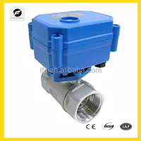 Mini electric operated valve for automatic control, HVAC, water treatment