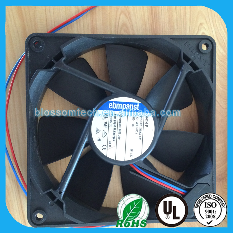 4414F 24VDC 119x119x25.4mm 5.00W 234 wires Cooling fan