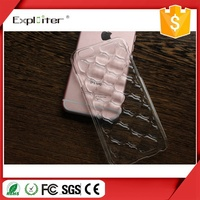 Fast reply crystal gel pvc cell smart phone cover