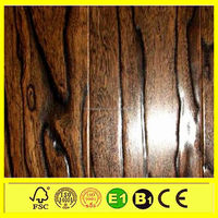 deep embossed hdf 8mm easy clean walnut laminate flooring ac4