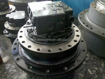 Case cx135 excavator final drive travel motor cx130 for Hydraulic track drive motor