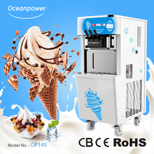 Oceanpower Commercial Soft Ice Cream making Machine price OP145 for sale