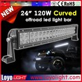 "Cheap 20"" curved led light bar offroad 20 inch 120W 4x4 led light bar"