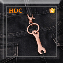 2015 custom design metal jean key chains for adult pants