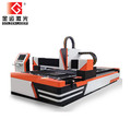 1000w 1200w 2500w high quality single table open type cnc aluminum fiber laser cutting machine