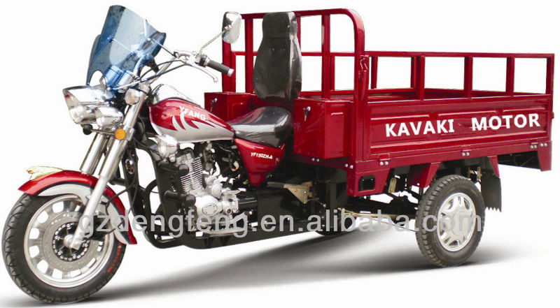 150CC Red MTR CargoTricycle KV150ZH-E4 Factory direct sales Three wheel motorcyle