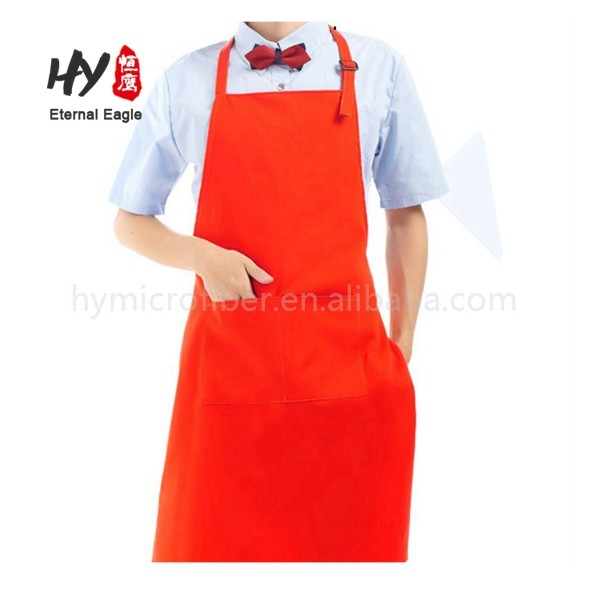 New style waist cleaning cotton with pockets aprons