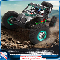 WL toys 4 wheel drive rc toy truck,2.4g radio control sytle rc car with double speed