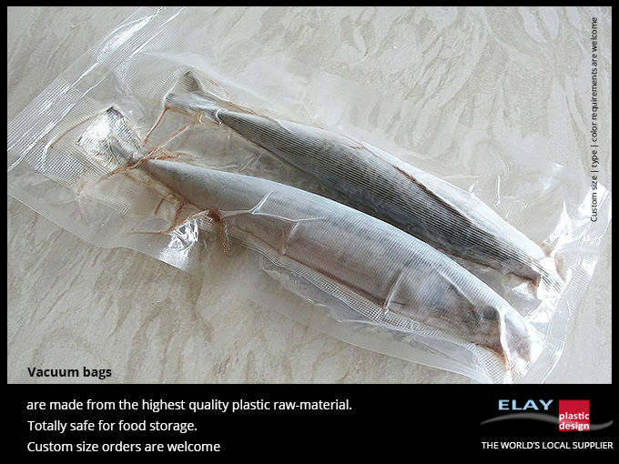 Clear Vacuum Food Bags