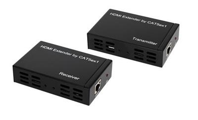 Powerline HDMI Extender 100m cat5e x1Support TCP/IP Function