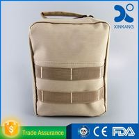 Customized pouch medical bag military first aid kit