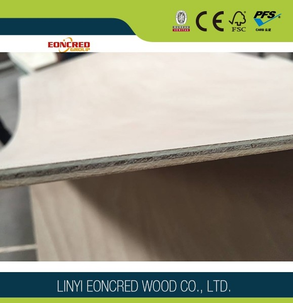 Indoor Decoration E0 Shandong Cheap Veneer Plywood Linyi Manufacturer