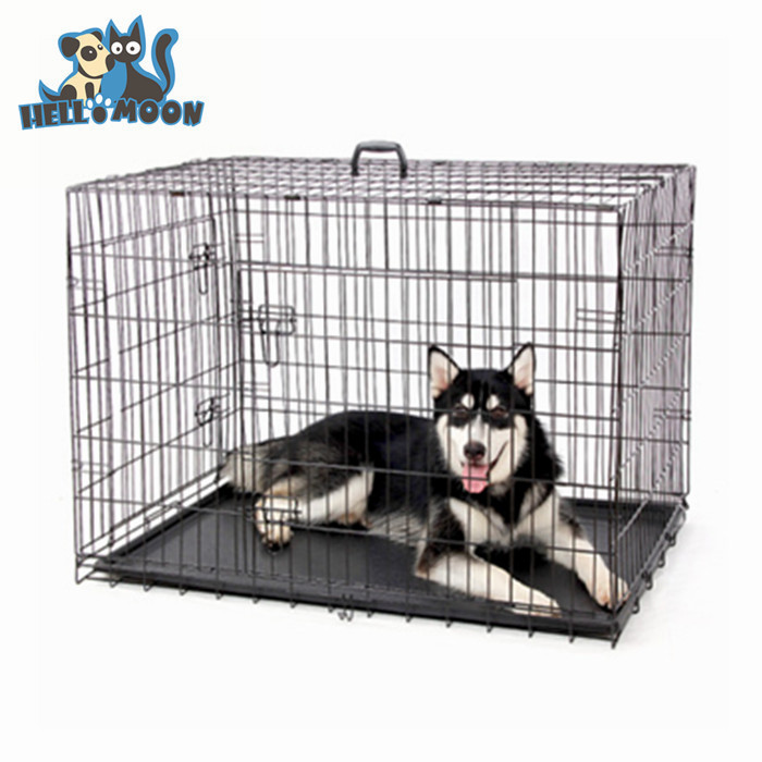 Hot Sale Fashionable Foldable Large Stainless Steel Dog Cage For Sale