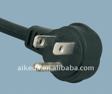 American standard power cord electrical plug with connector YY-3M
