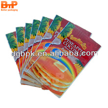 Chinese factory price food cream ingridents plastic bag