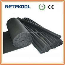 Rubber Foam Class1 B1 Thermal Insulation pipe/tube with high density and low k-value