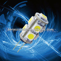 Super Brightness AC/DC G4 5050 9SMD LED For Auto Car Indicator Rear Turn Tail Light Lamp Bulb