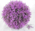artificial lavender ball, artificial color ball