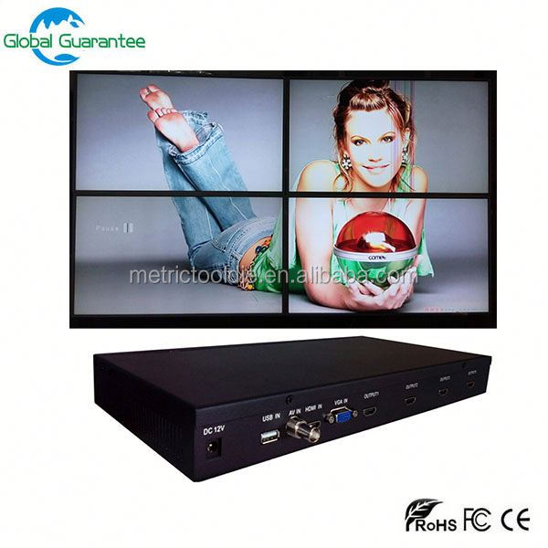 3x3 46 Inch Ultra Slim Bezel LCD Video Wall/TV Wall