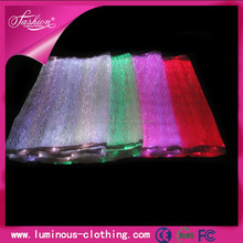 LED lighting fiber optical luminous fabric cloth wholesale wrinkle free cotton fabric/ nano fabric