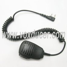 Black Shoulder Speaker Mic for Kenwood /WOUXUN /RELM /QUANSHENG /PUXING/Linton/ WEIERWEI
