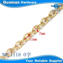 new arrival O shape design good quality iron small link chain