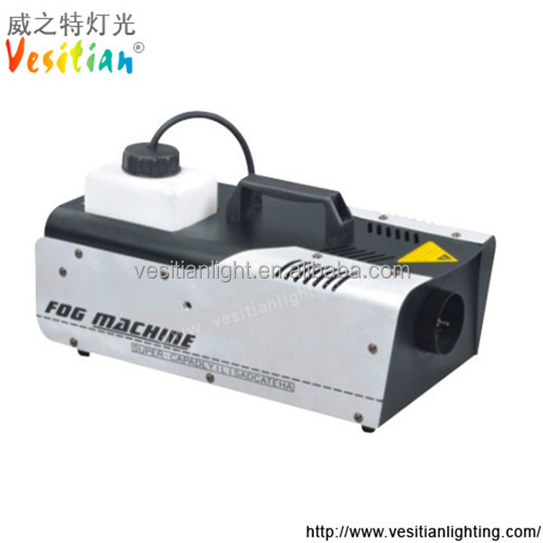 Dj/stage/party/club equipments disco fog machine 1200w snow effect machines for sale